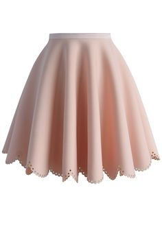 Petal Airy Skater Skirt in Pink - New Arrivals - Retro, Indie and Unique Fashion