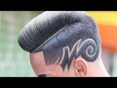 Hair Tattoo Men, Hair Tattoos, Tattoo Tutorial, Natural Hair Tips, Natural Hair Styles, Hair Tattoo Designs, Hair Patterns, Haircut Designs, Freestyle