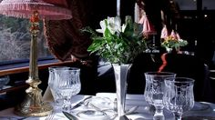 orient express vase | table is dressed for lunch on the venice simplon orient express ...