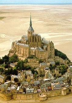 Le Mont St. Michel. France. Normandy.