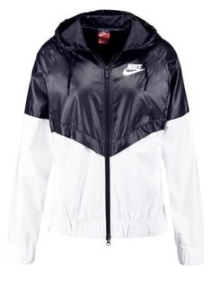 Nike Sportswear Summer jacket - black/white for £59.99 (25/09/16) with free delivery at Zalando