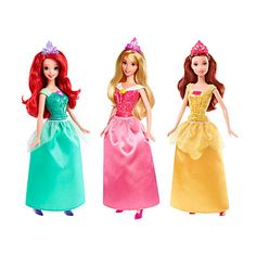 Disney Princess® Sparkling Dolls at Big Lots.
