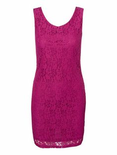 Your next party dress from VERO MODA. #veromoda #pink #dress #lace #fashion