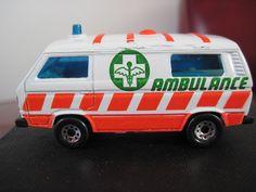 Matchbox Superfast Volkswagen Transporter Ambulance | eBay