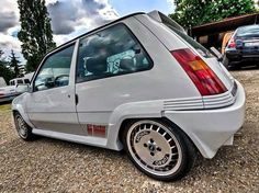 Renault 5 GT Turbo White