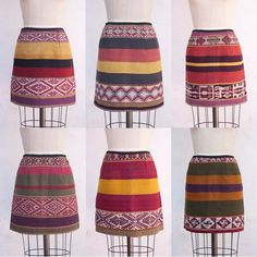 Image of Neili Mini skirt by Awamaki Lab - Awamaki label was formed in 2009 to support a cooperative of 10 women weavers from Patacancha, a rural Quechua community in the Andes of Peru. The AwaStore offers items created thanks to the Peruvian weavers. Their work support education and training for the local people, as well as provide income for the weavers and their families.