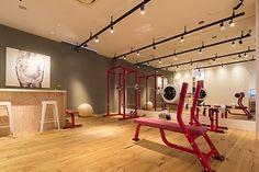 シェイプスガールボディメイクジム Architecture, Sports, Home, Design, Arquitetura, Hs Sports, Ad Home, Homes, Sport