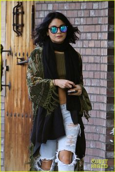 """Vanessa Hudgens Admits She Took a Nasty Fall Filming 'Grease: Live': Photo <a class=""""pintag searchlink"""" data-query=""""%23918528"""" data-type=""""hashtag"""" href=""""/search/?q=%23918528&rs=hashtag"""" rel=""""nofollow"""" title=""""#918528 search Pinterest"""">#918528</a>. Vanessa Hudgens grabs a cup off coffee at her local Starbucks on Thursday (January 21) in Studio City, Calif. The 27-year-old actress looked stylish in her signature…"""