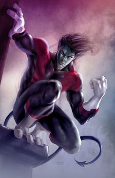 """x men art   When Asked How He Feels By Cyclops """"black and blue all over. but i ..."""