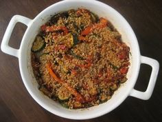 A Mingling Of Tastes Healthy Bell Pepper And Zucchini Gratin