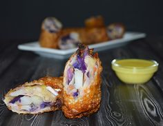 THIS ONES FOR ME :) Irish Egg Rolls-  It's shown Vegan but I will of course be putting Corned beef into mine