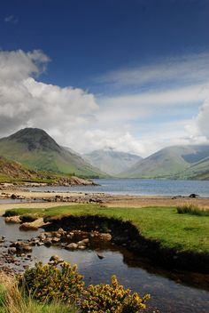 Wastwater ,Wasdale , Wasdale Head , Lake District , Cumbria . www.eternityimages.co.uk