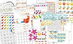 Summer Beach Themed Preschool Printables