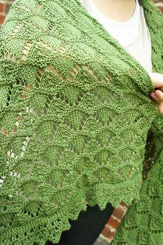 Ravelry: Printemps Shawl pattern by Tanis Gray free pattern