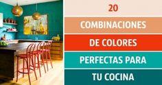 20Perfectas combinaciones decolores para tucocina