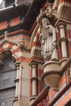 Discover Watson Fothergill's Office in Nottingham, England: When it came to designing his own small office building, the eccentric architect wasn't afraid to show the world what he could do. Victorian Buildings, Unique Buildings, Victorian Architecture, Great Britain, Britain Uk, Old Pub, Vernacular Architecture, Old English, Nottingham