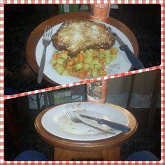 Día 12: Donde Comí El Almuerzo (Where I Ate Lunch). #FMSPhotoADay  En casa.