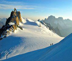 Ascension du Mont Blanc...