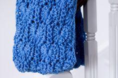 chunky yarn patterns crochet | Chunky Infinity Scarf Pattern