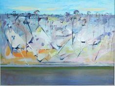 """Arthur Boyd """"Shoalhaven River"""" Australian Painting, Australian Artists, Landscape Art, Landscape Paintings, Landscapes, Arthur Boyd, Monet, Impressionist, Art Forms"""