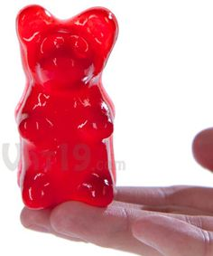 Big Gummy Bears: 18 times larger than regular gummy bears (6-pack)
