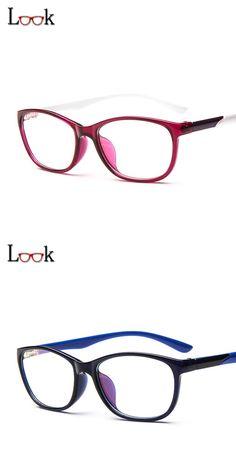 43806c63d90 New Fashion Optical Glasses Frame Spectacle Eye Glasses Frames For Women  Men Prescription Eyewear Clear Glasses
