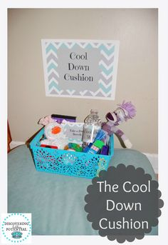 Cool Down Cushion-Unique strategy to help prevent behavior problems from escalating. Classroom Behavior, Classroom Environment, Preschool Classroom, Kindergarten, Classroom Resources, Classroom Setting, Future Classroom, Classroom Decor, Calm Classroom