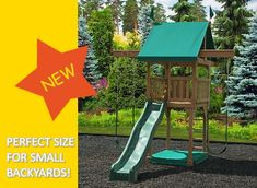 32 Best Playsets For Small Yards Images In 2018 Play