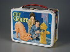 93.1700: Get Smart | lunch box | vacuum bottle