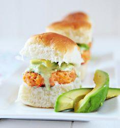Delightful Avocado and Salmon Sliders