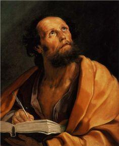 Saint Luke - Guido Reni