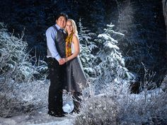 Winter Wonderland Engagement by Damian Vines on 500px