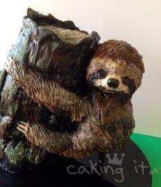 Sloth birthday cake ;-)
