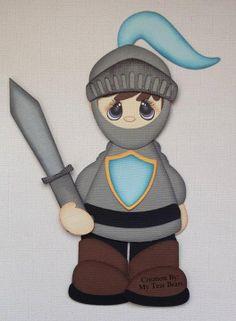 Knight (Scrapbook Paper Piecings)