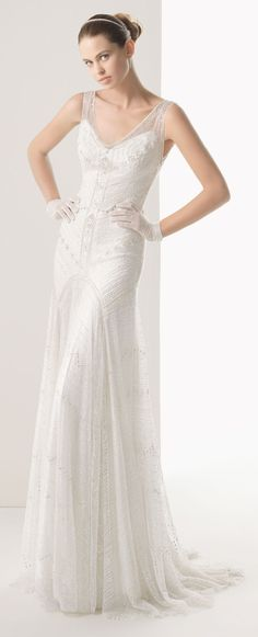 Rosa Clara - Copla Wedding Dress (front)