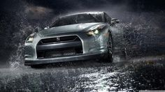 Nissan GT-R from one raining day :D
