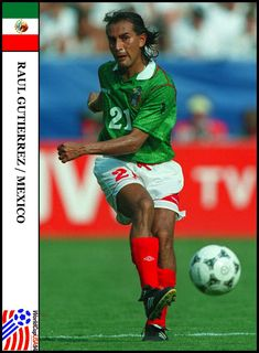 Soccer Cards, Baseball Cards, Raul Gutierrez, Garra, Fifa World Cup, Mexico, Breakfast Nook, Soccer, Block Prints