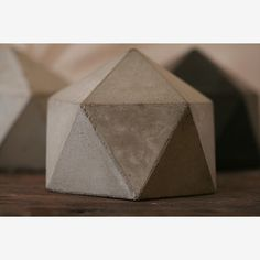 Concrete geodesic planter - - very cool....