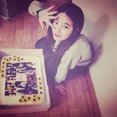 #데뷔5주년 선물 고마워요!!!! 팬분들이 주셨어요 #팬부심 깨알#해바라기 센스ㅋㅋㅋㅋㅋ