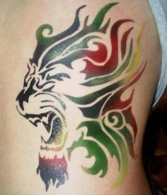 1000 images about tattoo ideas on pinterest rasta lion tribal tattoos for men and tribal tattoos. Black Bedroom Furniture Sets. Home Design Ideas