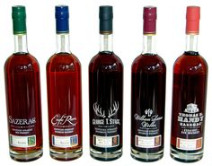 Hard to find, fabulously overpriced, lovely to look at and wonderful to taste, the Buffalo Trace 'Antique Collection' would be front and Centre of my liquor library ...