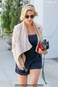 Elsa Pataky In a navy blue strapless top and matching shorts, goes shopping on Beverly Boulevard in Beverly Hills http://icelebz.com/events/elsa_pataky_in_a_navy_blue_strapless_top_and_matching_shorts_goes_shopping_on_beverly_boulevard_in_beverly_hills/photo1.html