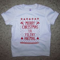 Funny Kids Christmas Shirt