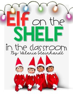 This pack is sure to make your elf tradition FUN and educational. Included you will find different activities that the students are sure to love and meet many standards as well. I have included activities for behavior management, a project parents are sure to appreciate, and incorporated Math and Writing.