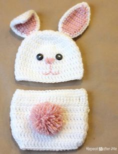 Crochet Bunny - Too cute!