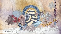 Cold Morning Collab by Scrapbird Designers.