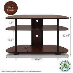 Beautiful wood TV STAND!  US $74.99 New in Home & Garden, Furniture, Entertainment Units, TV Stands