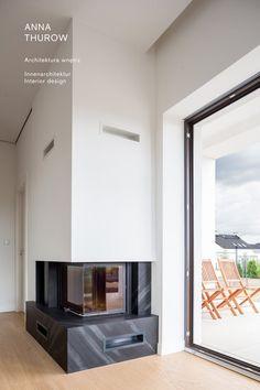 modern stone black fireplaces ideas nowoczesny kamienny czarny kominek designed by: annathurow. Black Fireplace, Oversized Mirror, Flat Screen, Furniture, Design, Home Decor, Ideas, Trendy Tree, Living Room