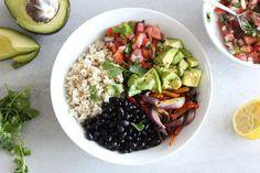 Healthy Chipotle Burrito Bowl Recipe | Liezl Jayne