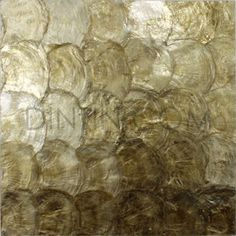 Golden capiz natural mother of pearl wall tiles Wall Tiles, Shell, Pearl, Natural, Glass, Decor, Tiles, Brick, Tiles